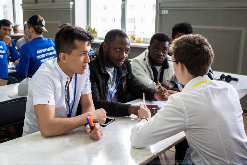 Иностранные студенты приняли участие во всероссийском спортивном съезде ассоциации иностранных студентов «Мировая игра»