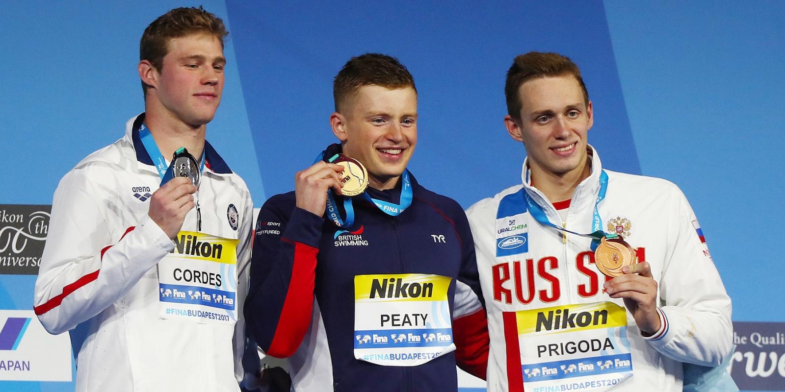 Кирилл Пригода взял бронзу на ЧМ-2017 по водным видам спорта