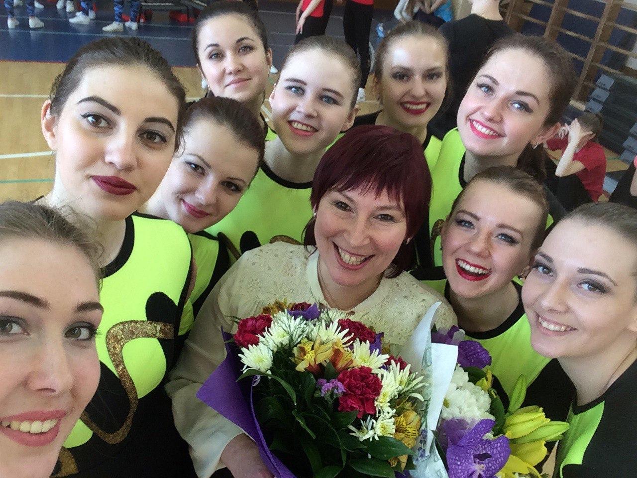Сборная по спортивной аэробике заняла шестое место в чемпионате вузов Петербурга