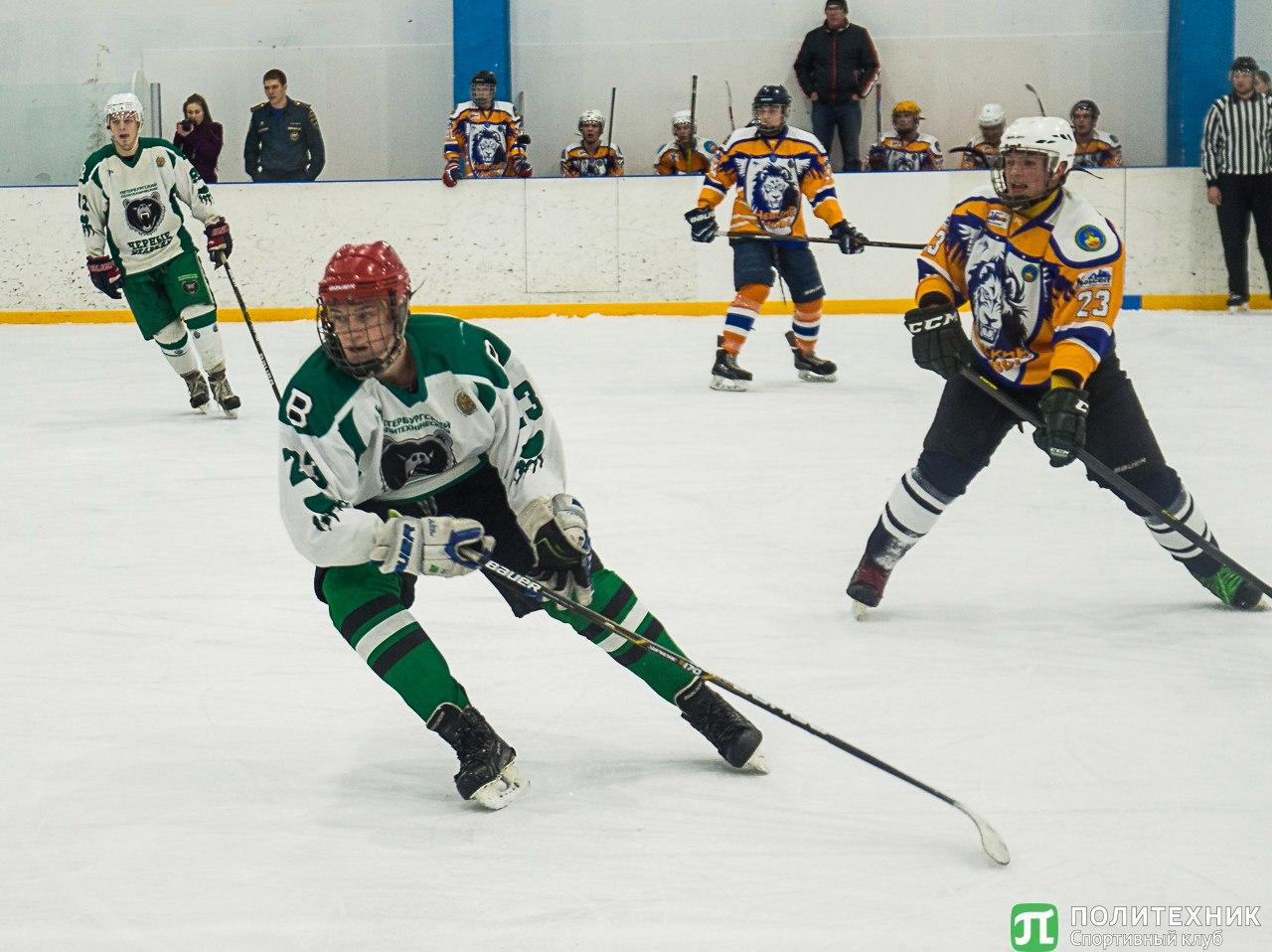 Хоккеисты Политеха стали бронзовыми призерами Студенческой хоккейной лиги
