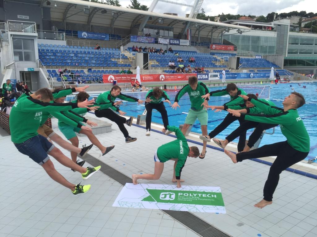 Сборная по водному поло стала победителем фото-конкурса в рамках III Европейских Студенческих игр