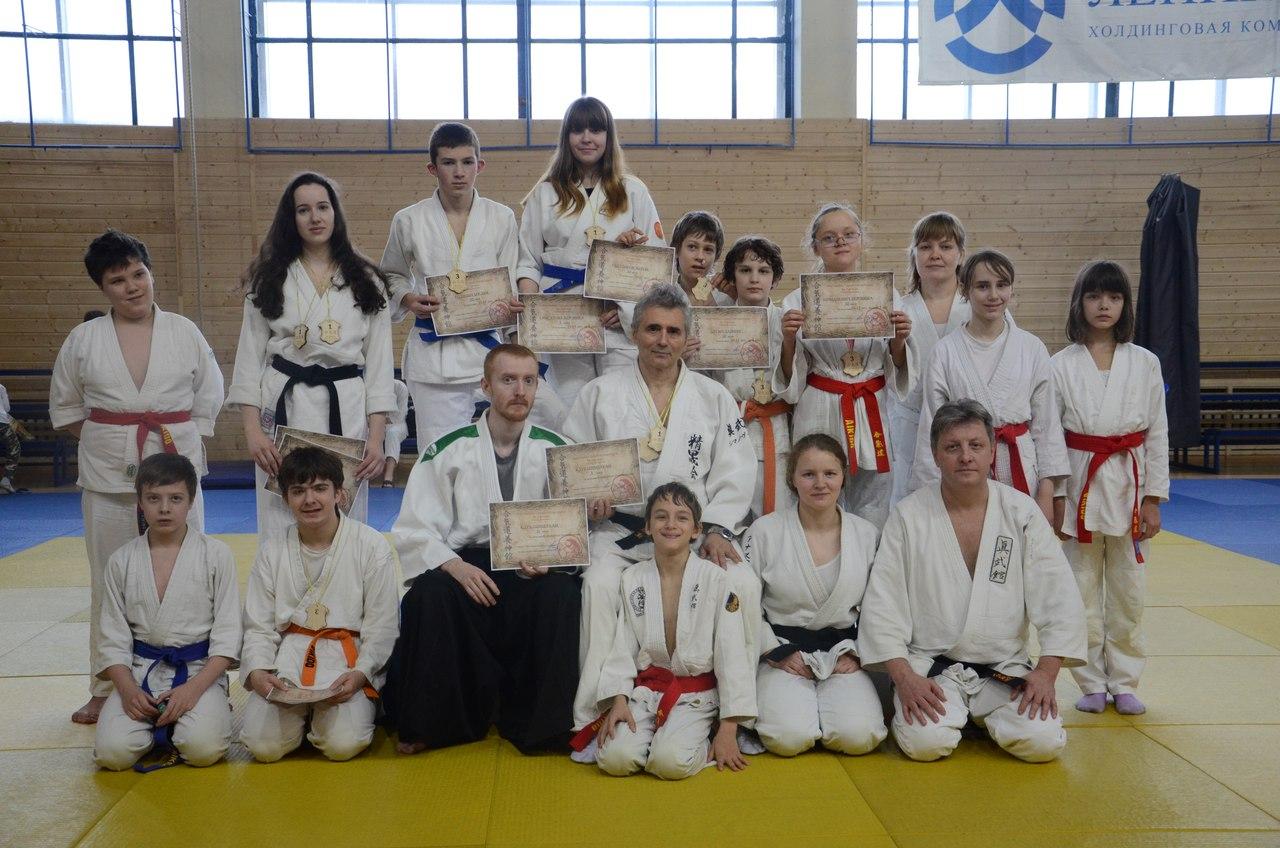 В Санкт-Петербурге состоялся первый чемпионат города по Айкидо Ёсинкан