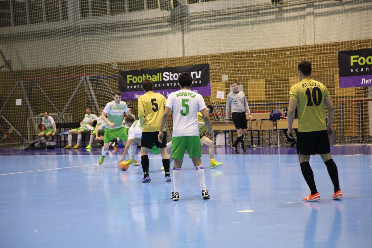 Сборная Политеха по мини-футболу впервые выиграла приз Первокурсника