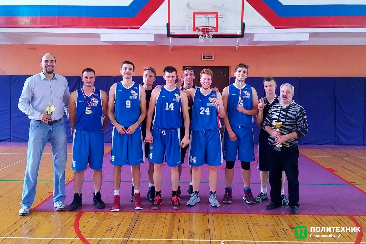 Баскетболисты Политеха одержали победу в Санкт-Петербургском международном студенческом турнире