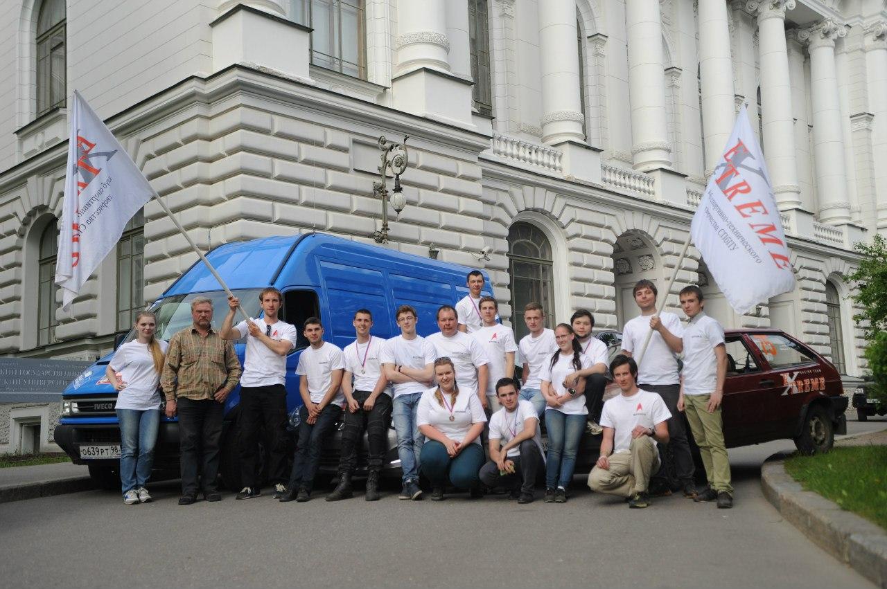 Чемпионат Санкт-Петербурга среди студентов вузов по спортивному автомобильному многоборью