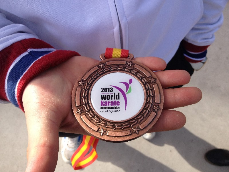 Чемпионат Мира среди кадетов и юниоров по каратэ WKF