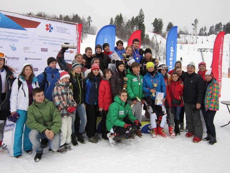 Чемпионат ВУЗов Санкт-Петербурга по горнолыжному спорту и сноуборду