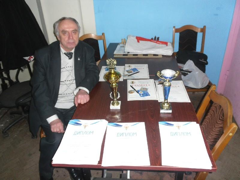 35-летие шахматного клуба им. М.М. Ботвинника