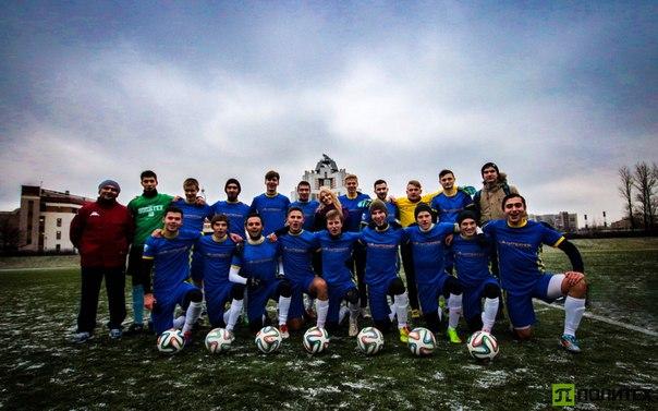 Сборная Политеха по футболу победители Чемпионата вузов Санкт- Петербурга по большому футболу