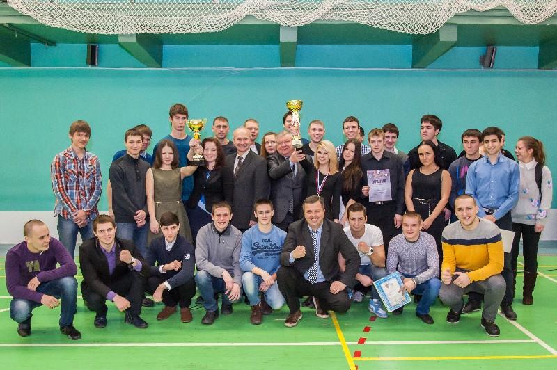 Награждение победителей и призеров чемпионатов Санкт-Петербурга среди студентов вузов 2013 года