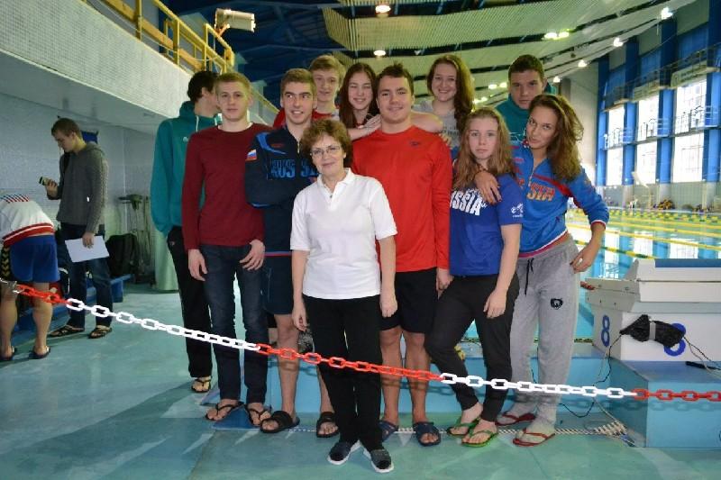 Всероссийские соревнования по плаванию среди студентов