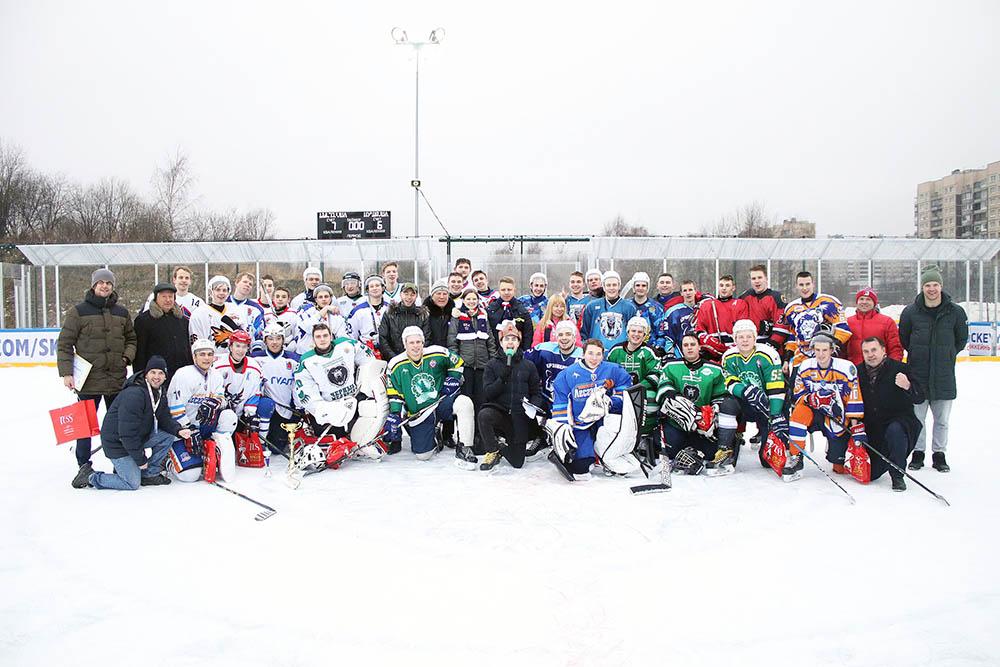 Хоккеисты-Политехники приняли участие в