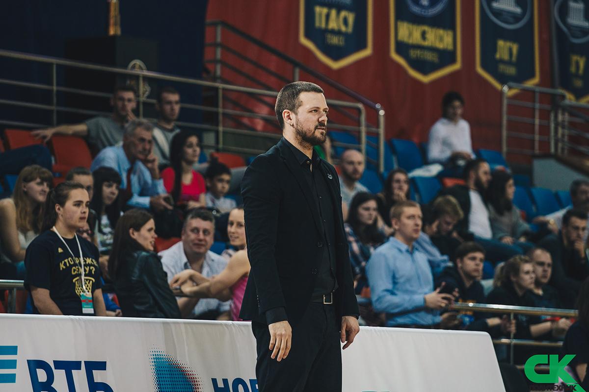 Интервью тренера ЖБК Политеха