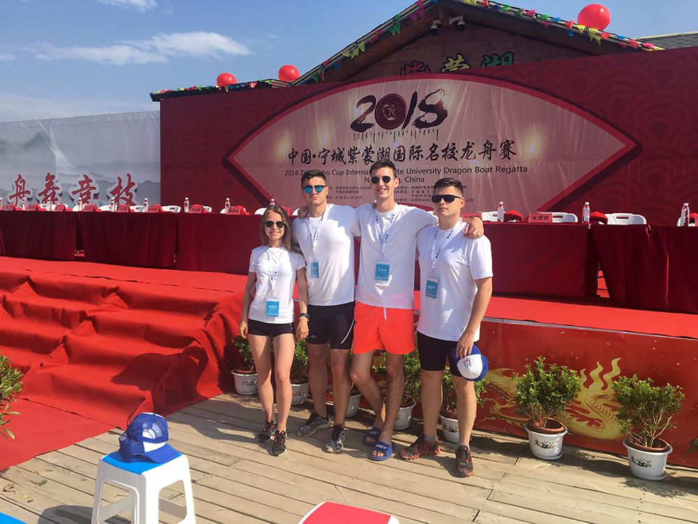 Гребцы СПбПУ показали своё мастерство в Китае