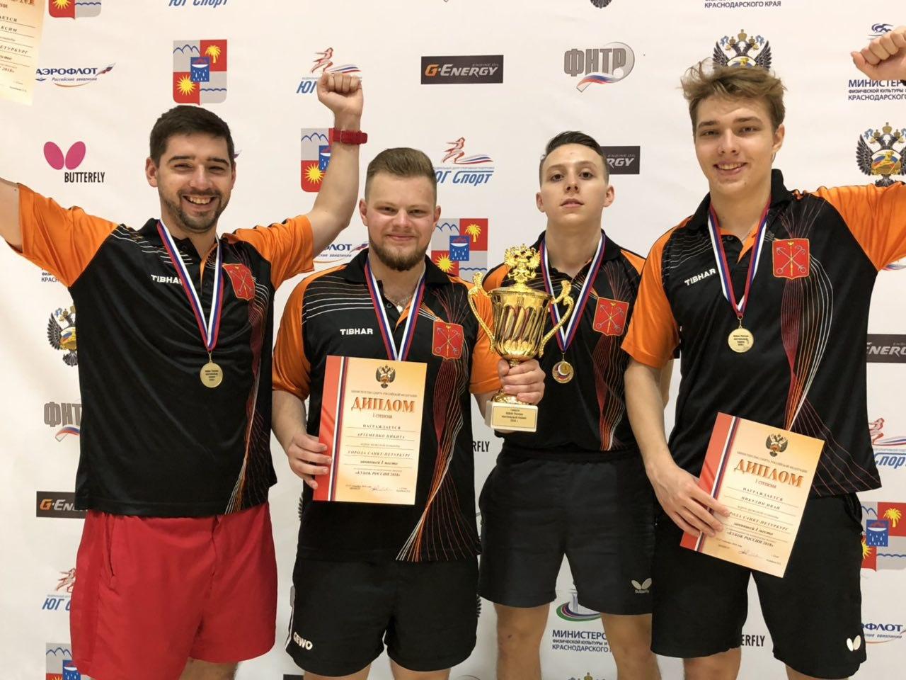 Тренер сборной по настольному теннису выступил на Кубке России-2018