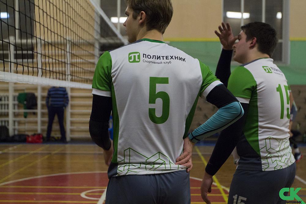 Волейбол Политехнического выходит на новый уровень!