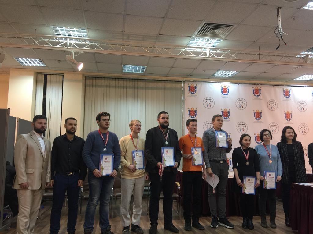Шахматисты стали призерами в трех дисциплинах на чемпионате СПб среди вузов
