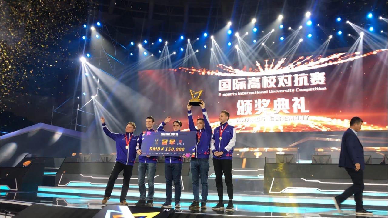 Два золота киберспортсменов в Китае!