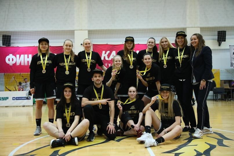 Чемпионство сборной Политеха по баскетболу в дебютном сезоне