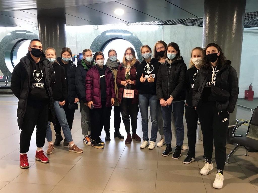 Отличный старт женской сборной по баскетболу в Студенческой лиге РЖД