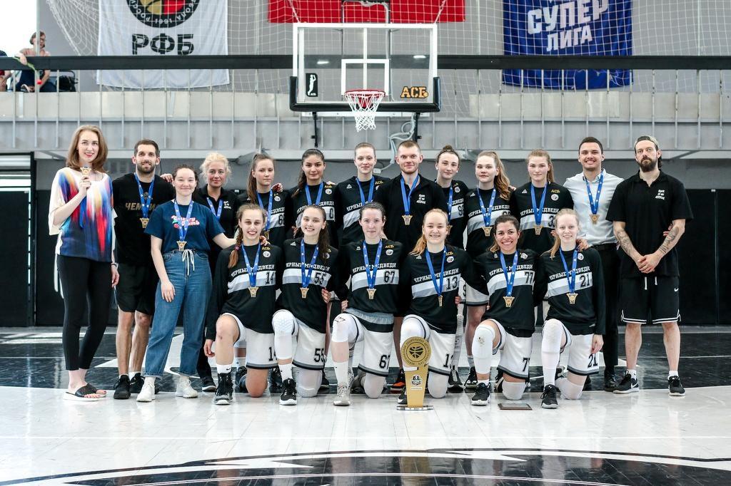 Наши баскетболистки чемпионы Первой лиги СЗФО!