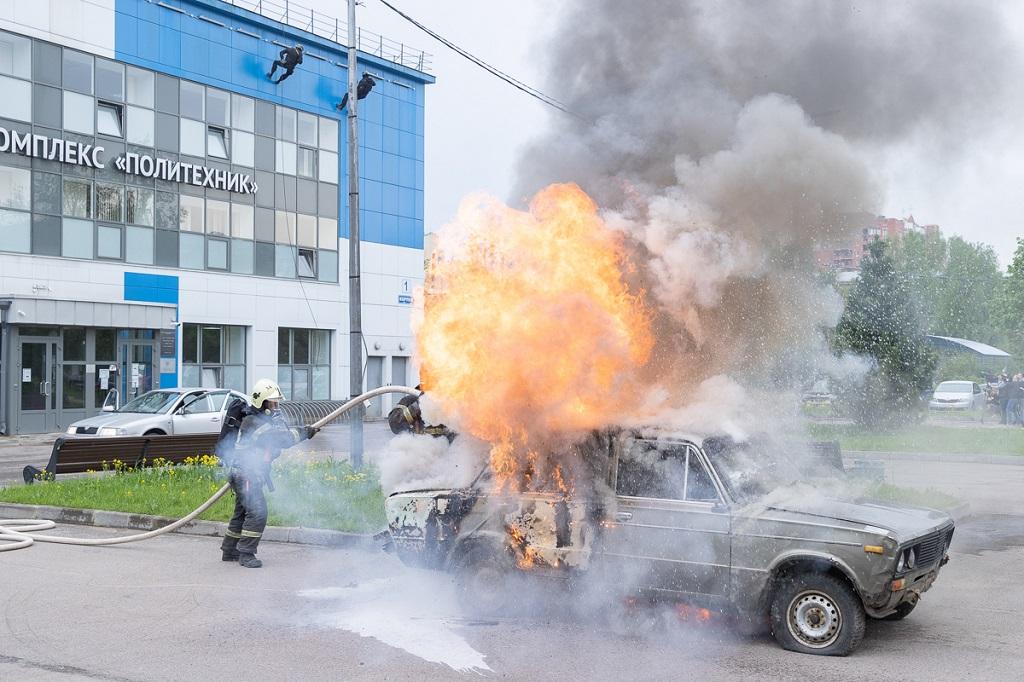 Антитеррористические учения прошли в Политехническом университете