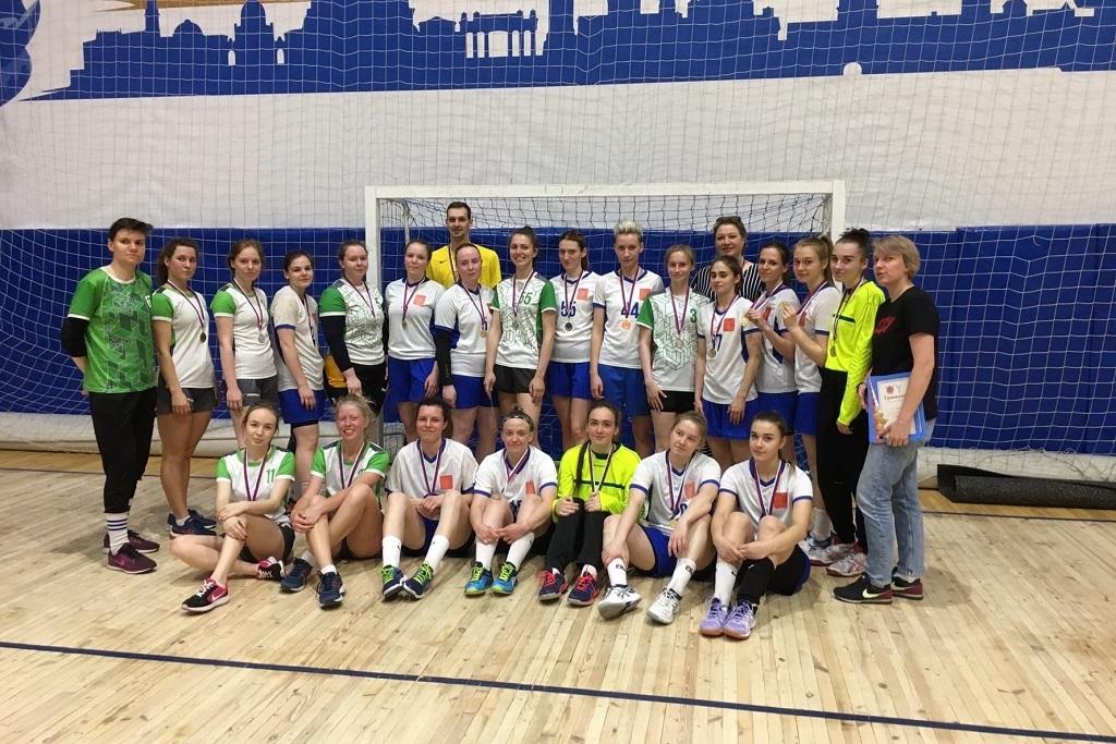 Чемпионат среди гандбольных команд студентов университетов Санкт-Петербурга