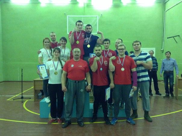 Чемпионат ВУЗов СПб-2015 по армрестлингу