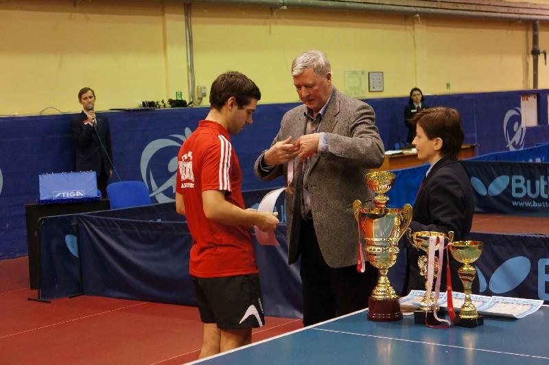 Чемпионат Росси по настольному теннису
