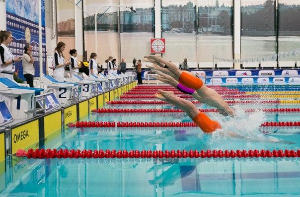 Всероссийские соревнования среди студентов по плаванию