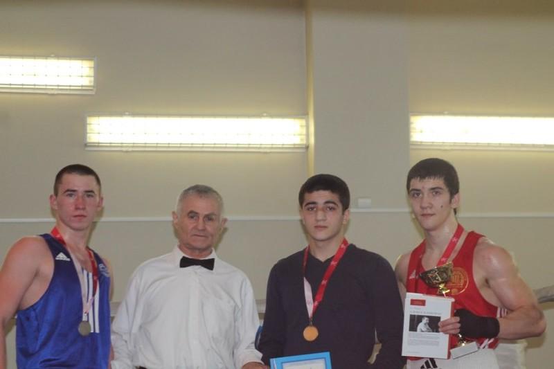 Чемпионате вузов  по боксу