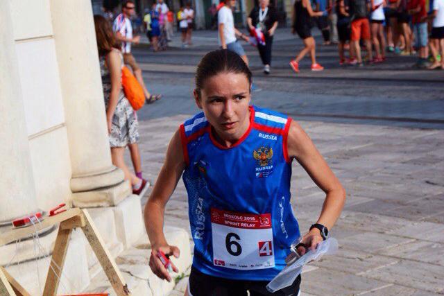 Татьяна Бевза стала четвертой на чемпионате мира по спортивному ориентированию