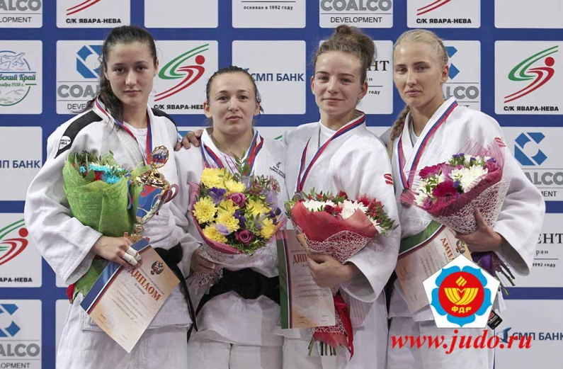 Галия Сагитова и Илона Бурянченко завоевали медали на Чемпионате России по дзюдо