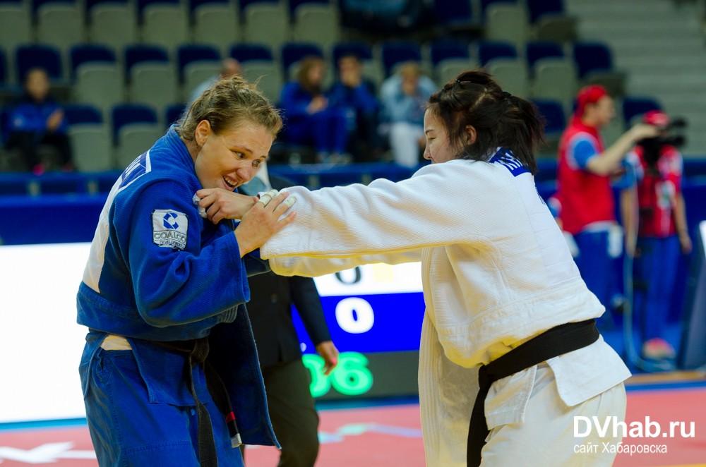Илона Бурянченко стала победительницей первого этапа Лиги Дзюдо